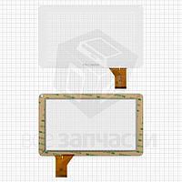 """Сенсорный экран для планшетов China-Tablet PC 9""""; Allwinner A13 Q9; Impression ImPAD 9213; Uni Pad DR-UDP05A, 9"""", 50 pin, емкостный, белый, (233*141"""