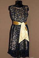 Платье нарядное гипюровое  р.134-164