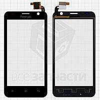 Сенсорный экран для мобильного телефона Prestigio MultiPhone 3450 Duo, черный, #QT052354506 WTP-C14.5BA-F