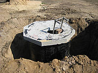 Строительство приямка с ЖБК колец