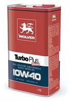 Моторное масло WOLVER Turbo Plus 10w40 CG-4/SJ