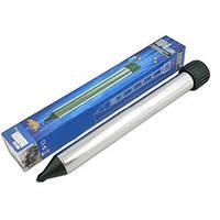 Ультразвуковой отпугиватель кротов Sonic: диаметр действия 32-35 м, 4х42 см, алюминий, ABS пластик