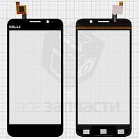 Сенсорный экран для мобильного телефона Gigabyte GSmart Alto A2, (обязательно читайте полезные советы), черный, тип 2
