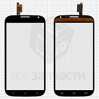 Сенсорный экран для мобильных телефонов Qumo Quest 503; LOVME X50 3G; Ergo SmartTab 3G 5.0, черный, #FPC-C050T1200AA0