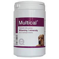 Долфос Мультикаль (Multical) витаминно-минеральный комплекс для собак 510 таб.,800 гр.