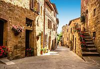 Фотообои бумажные на стену 366х254 см 8 листов: Улицы Тоскании