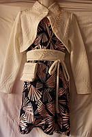 Платье с болеро и сумочкой  р.134-152