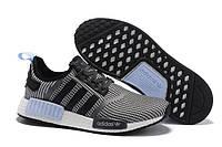 2452466e176b Кроссовки мужские Adidas Nmd R1 Clear Blue. обувь интернет, адидас НМД
