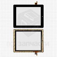 """Сенсорный экран для планшетов China-Tablet PC 8""""; Prestigio MultiPad 2 Ultra Duo 8.0 3G (PMP7280C3G), 8"""", 9 pin, емкостный, черный, (200 ×153 мм),"""