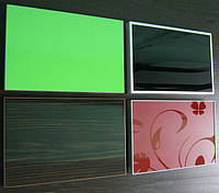 Рамочный фасад Р-34 серебро наполнение стекло фотопечать