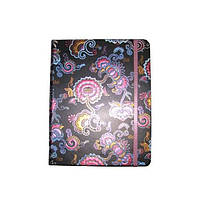 Блокнот на резинке В5 HDU085-4 (88 листов) линия, кремовая бумага, обложка твердая-фольга
