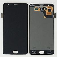 Оригинальный дисплей (модуль) + тачскрин (сенсор) для OnePlus Three | A3000 | A3003 (черный цвет)