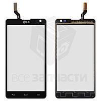 Сенсорный экран для мобильного телефона LG D605 Optimus L9 II, черный