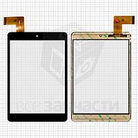 "Сенсорный экран для планшета China-Tablet PC 7,85"", 7.85"", 36 pin, емкостный, черный, (196*130 мм), #FPC-CY785072(C8037)-01/XF20141105/HK80DR2498"