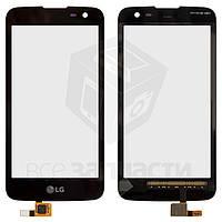 Сенсорный экран для мобильных телефонов LG K3 K100DS LTE, K4 K120E, K4 K130E, черный, тип 2, #STEAQ00GS