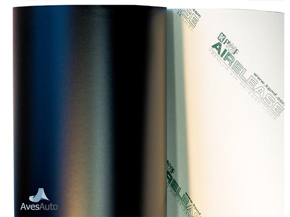 Черная матовая пленка - KPMF с микроканалами (серия 89000), фото 2