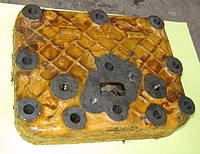 Головка блока цилиндров пускового двигателя ПД-23 02240-1