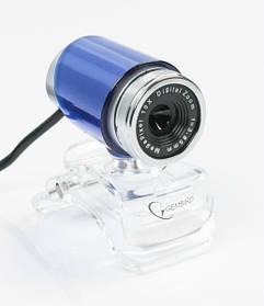 Веб-камера Gembird CAM100U-B BLue с микрофоном