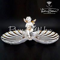 Статуэтка фарфоровая «Ангел», h-19х43х21 см.
