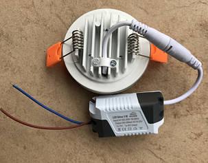 Светодиодный декоративный светильник RIGHT HAUSEN Ring 5W 4000K белый Код.58852, фото 2