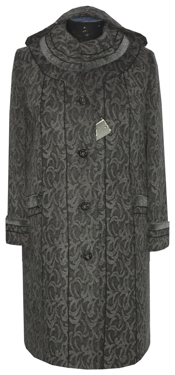 Женское зимнее пальто с капюшоном