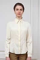 Блуза делового стиля  рукав реглан