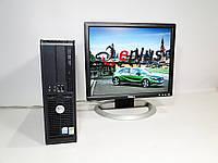ПК Dell Optiplex GX620 + Dell 1704 бу