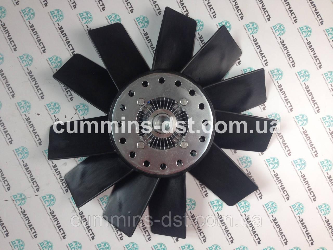 Крыльчатка вентилятора охлаждения с визкозомуфтой Cummins ISF2.8 020005158