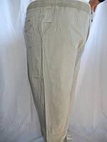 Брюки MONDO на резинке (батал) лен