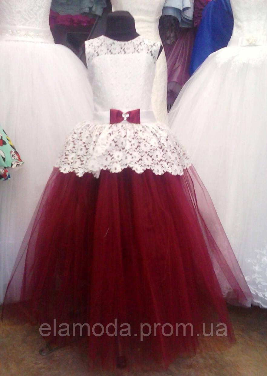 Купить бальное платье для девочки 7 лет