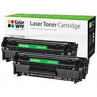 Картридж ColorWay для HP LJ 1010 (Q2612AF/Canon FX-10 Universal) DUAL PACK (CW-HQ2612/FX10FM)