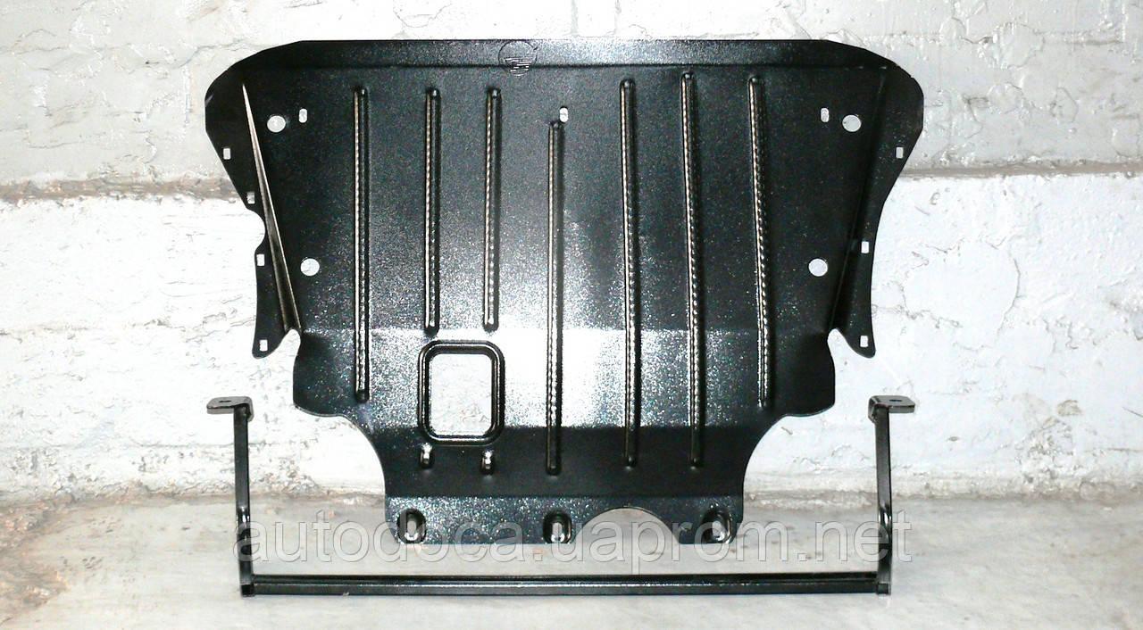 Защита картера двигателя и акпп Volkswagen Tiguan II 2016-