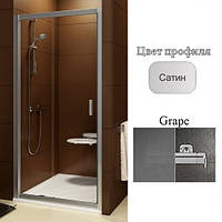 Двери душевые Ravak BLDP2-110 Grape+Satin, фото 1