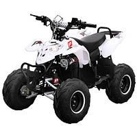 Квадроцикл HB-EATV 1000E-1 мотор 1000W безщеточ, 4 аккумулятора 20A/12V, музыка, USB,SD,белый