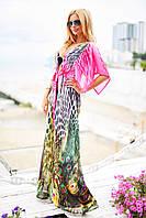 Пляжное платье женское на завязках
