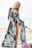 Женская пляжная накидка стильная в 2017 году