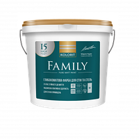 Гипоаллергенная краска Kolorit Femily (Interior Premium 3 (Колорит Премиум 3)  0.9 л (База А)