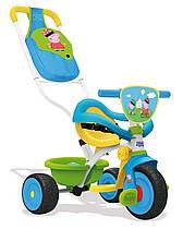 Велосипед трехколесный Свинка Пеппа BE MOVE KOMFORT Smoby 740413