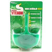 Туалетный Утенок подвесной очиститель для унитаза Зеленый 108 г