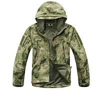 Куртка-ветровка тактическая Military M (болотного цвета)
