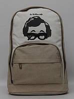 Функциональный женский рюкзак на каждый день с рисунком. Отличное качество. Доступная цена. Дешево. Код: КГ801