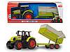 """Трактор Dickie Toys """"CLAAS"""" с прицепом, 57 см (3739000)"""