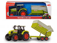 """Трактор Dickie Toys """"CLAAS"""" с прицепом, 57 см (3739000), фото 1"""
