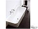Пристенная ванна с переливом Aqua-World ARTISTIC BATH AC0902 АВ09-02 белая, фото 3
