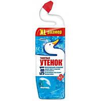 Чистящее средство для унитаза Туалетный утенок 5 в 1, Морская свежесть 900 мл