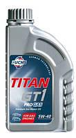 Моторное масло Titan GT1 Pro GAS 5w40 4