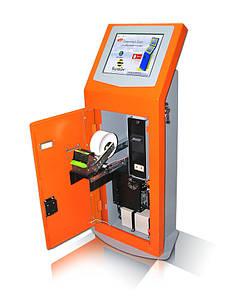 Платежный терминал. ПТ-1. Одномониторный Внутренний