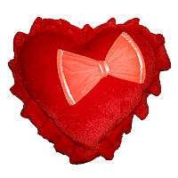 Мягкая игрушка Сердце с бантом маленькое Украина (Никополь)