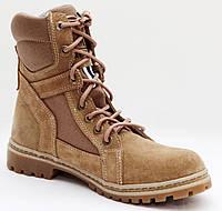 Берцы женские (Берці, Берци) Ботинки тактические высокие БЕЖ, фото 1