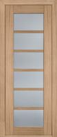 Межкомнатные двери Дверь межкомнатная модель 137 (глухая/остекленная) дуб светлый Terminus